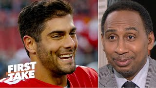 stephen-a-gives-props-to-jimmy-garoppolo-sort-of-first-take