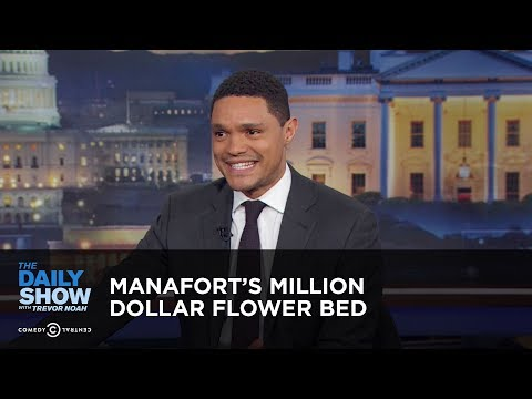 Manafort's Million Dollar Flower Bed - Between the Scenes | The Daily Show