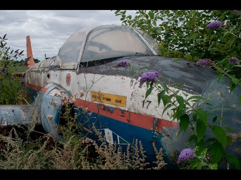 Abandoned Aircraft Graveyard in the UK
