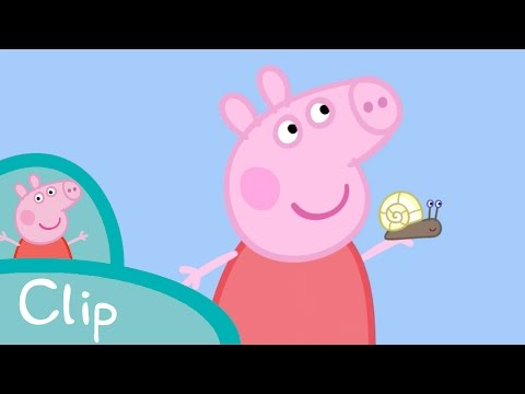 Peppa Pig - Peppa and George's garden (clip)