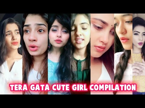 Ishme Tera Gata Mera Kuch Nahi Jata | Cute Girl's Compilation | Musically India