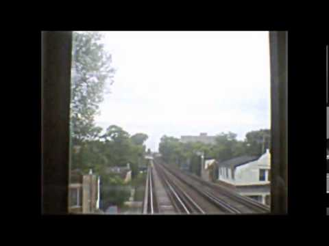 CTA Pink Line train from Downtown Chicago to 54th/Cermak terminal Pt.2 (04-16-15)