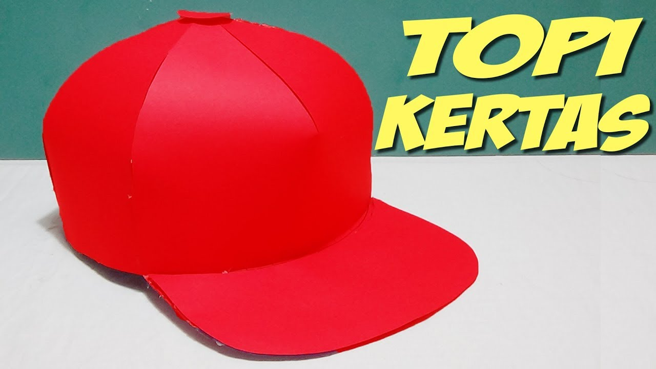How To Make Paper Hat Paper Snapback