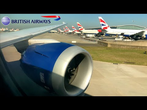 British Airways | 787-8 Dreamliner | MAA ✈ LHR | Club World |