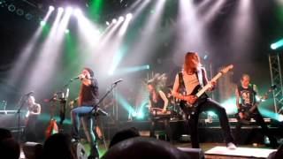 Eluveitie - Scorched Earth & Meet The Enemy  (Live) House of Blues Chicago, IL 9/15/15