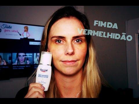 Como melhorar a vermelhidão do rosto: Fluido Anti Redness Eucerin #junhotododia20