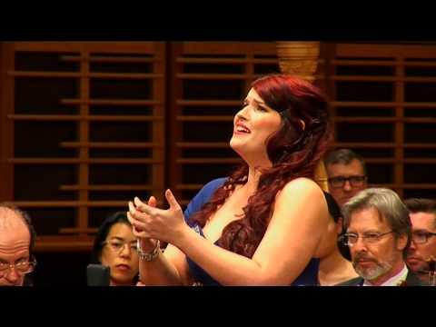 2013: Jade Moffat, mezzo soprano. ASC Finals Concert, first performance (Monteverdi)