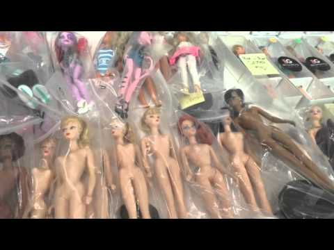 GAW barbie convention ~ sales room shopping