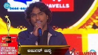 SIIMA 2014 Best Singer Male Kannada    Arjun Janya