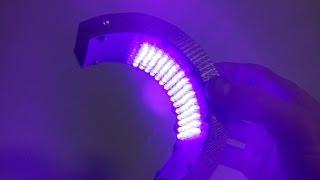 LED лампа своими руками (светодиодная ультрафиолетовая лампа ) или как порадовать жену