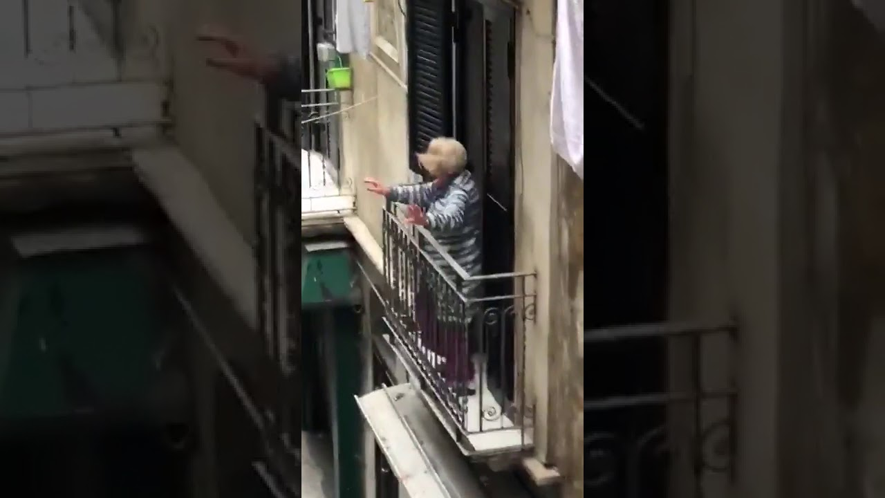 (1) Grandma Vibing The Hell Out of Coronavirus During City in Lockdown - YouTube
