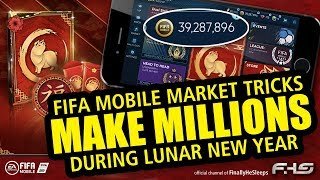 How to Make Millions in the Market during LNY on FIFA Mobile