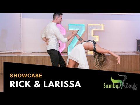 SAMBAZOUK FEIRA 2019 - Rick Torri & Larissa Secco  Brazilian Zouk Dance