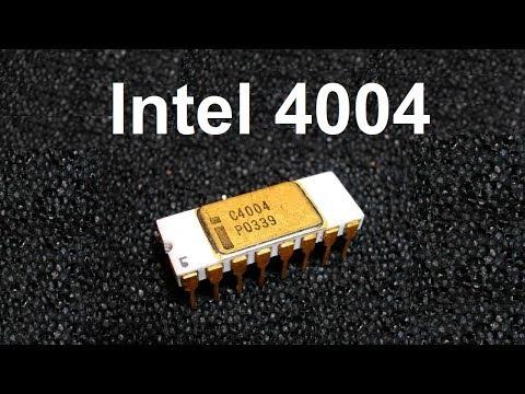История CPU Intel 4004