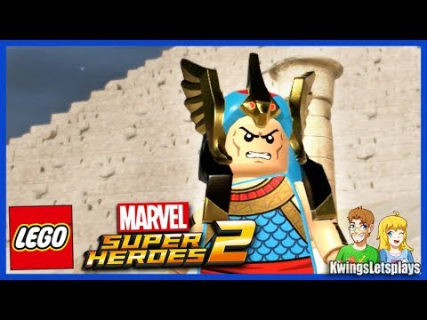 Lego Marvel 2 Free Roam Adventures Part 26 EGYPT Puzzle Fun!