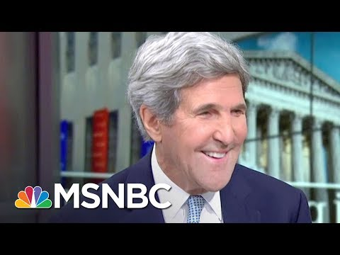 Joe Asks Secretary John Kerry: 'Is It Kerry 2020?' | Morning Joe | MSNBC