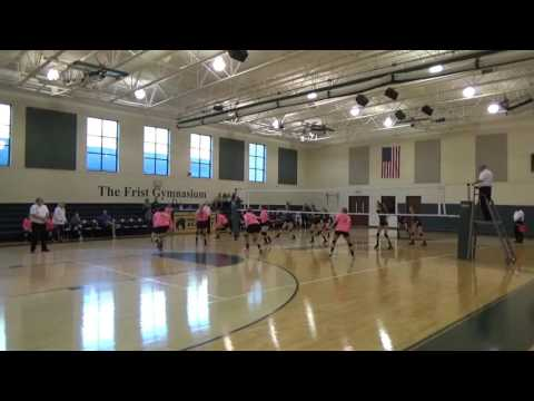RCA vs Franklin Classical School MTAC Volleyball Championship 2016 SET 1