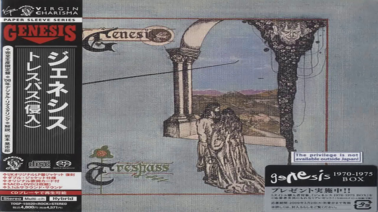 Genesis - Trespass (Hybris Sacd R) Full Album HQ