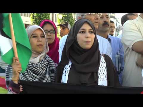 Israeli aggression on Al Aqsa Mosque protested in Rabat