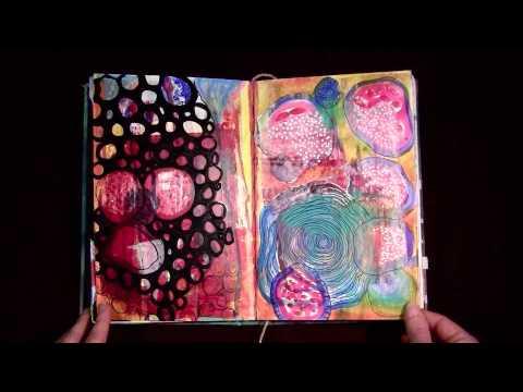 everyday Art Journal Flip-Through