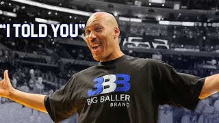 Lavar Ball Was Right This Entire Time!?