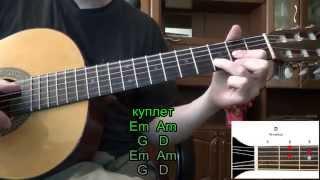 ОРБИТ БЕЗ САХАРА- Сплин. Как играть на гитаре