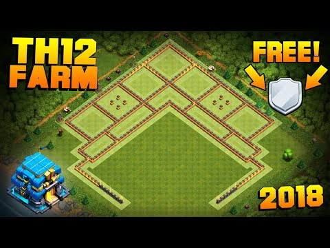 NEW TH12 FARMING BASE + REPLAYS! | CoC Town Hall 12