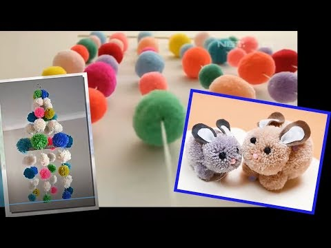 how-to-make-a-pom-pom-maker-tutorial-(craft-basics---yarn-pom-pom)