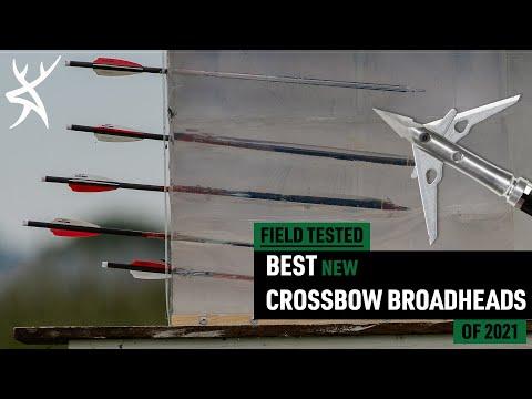 Best Crossbow Broadheads Of 2021 | Field Test