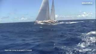 Nevis and sailing to St Maarten
