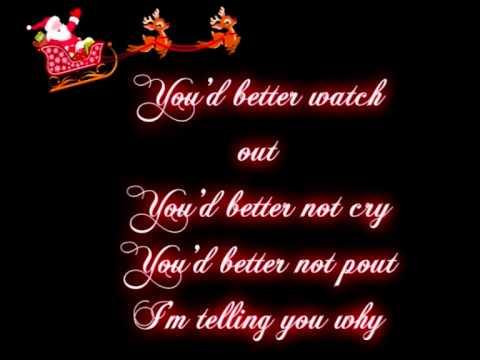 Jackson 5 - Santa Claus is comin' to town - Lyrics