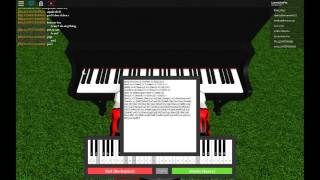 Inception Roblox [HARDEST SONG ON ROBLOX PIANO (WARNING HURTS FINGERS!!!)]