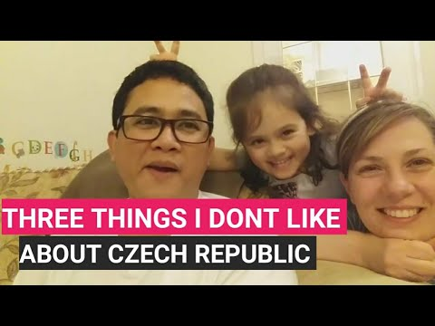 3 things i dont like about Czech Republic