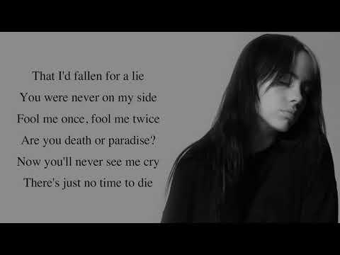 Billie Eilish - No Time To Die [Full HD] lyrics