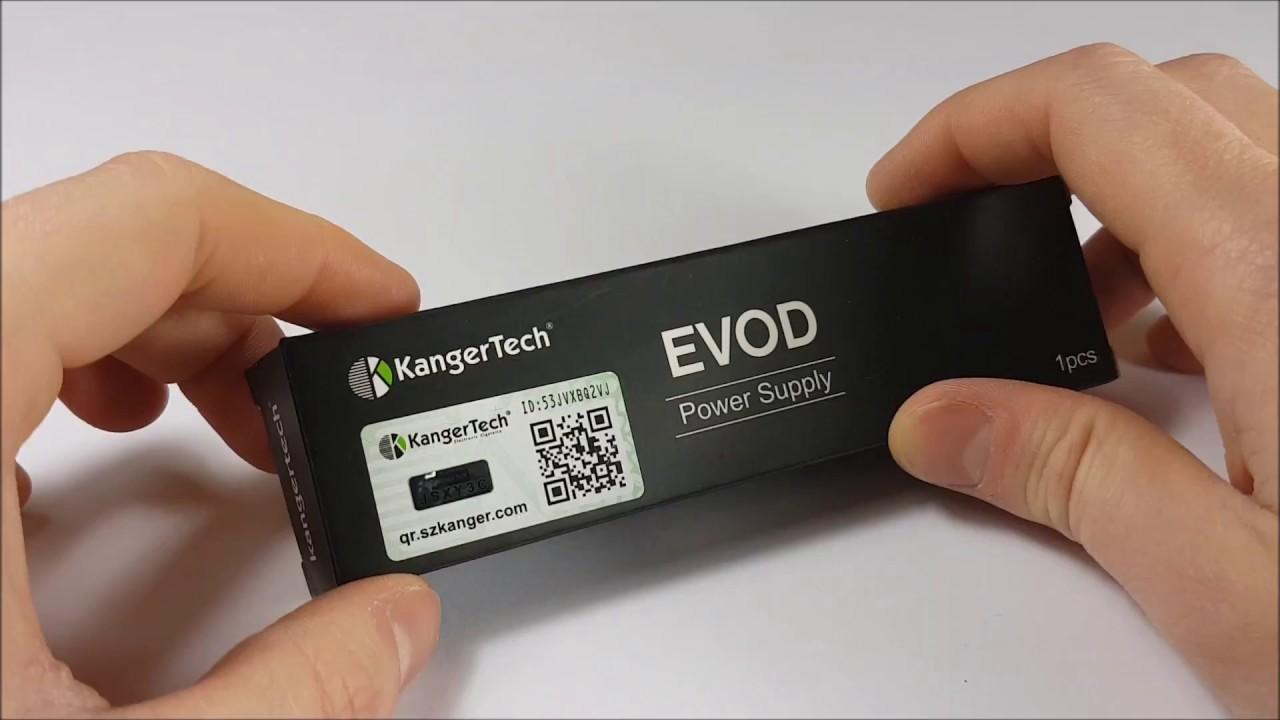 kangertech evod battery instructions
