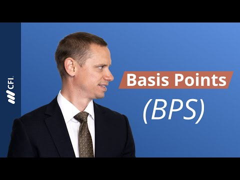 Basis Points (BPS) - Finance Unit of Measurement 1/100th of 1%