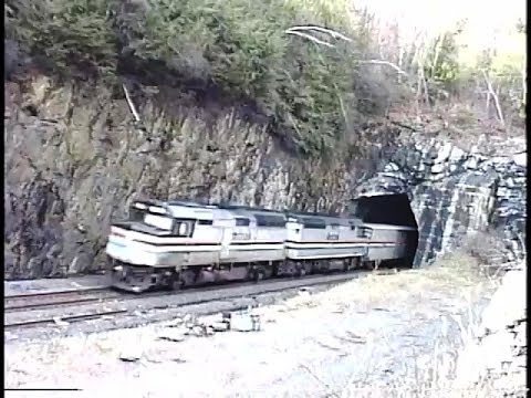 Conrail's State Line Tunnel.  November 14, 1992.