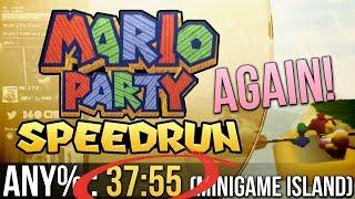 Mario Party Mini-Game Island Any% Speedrun in 37:55 (again)