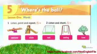 Unit 5 What is the ball Lesson 1 | Family and Friends 1