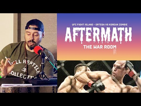 BRIAN ORTEGA VS KOREAN ZOMBIE - AFTERMATH - UFC FIGHT ISLAND