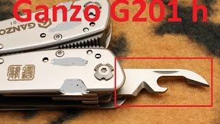 как правильно открывать консервы: открывалка мультитул GanZo G201