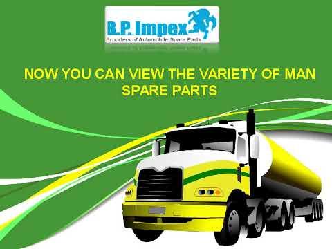 Original MAN Spare Parts - Bp Auto Spares India
