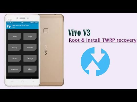 Cara instal TWRP di vivo v3 /How To TWRP Almost Any Android Device