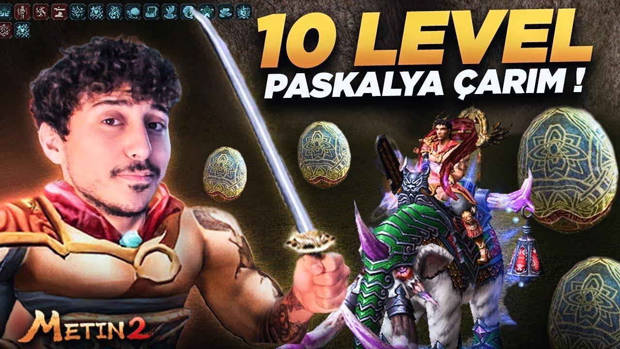 10 LEVEL PASKALYA ÇARI DİZDİM ! DÜŞÜK LEVEL FARM MAKİNASI   BEDENSEL !   Metin2   Rohan2 World #10