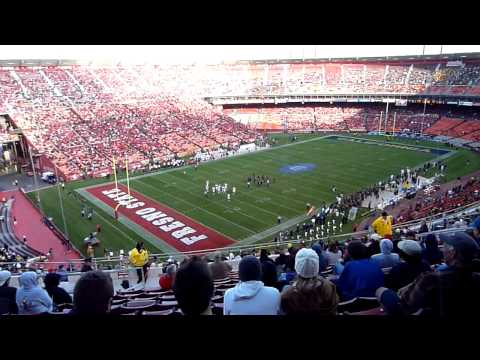 Cal vs. Fresno State at Candlestick
