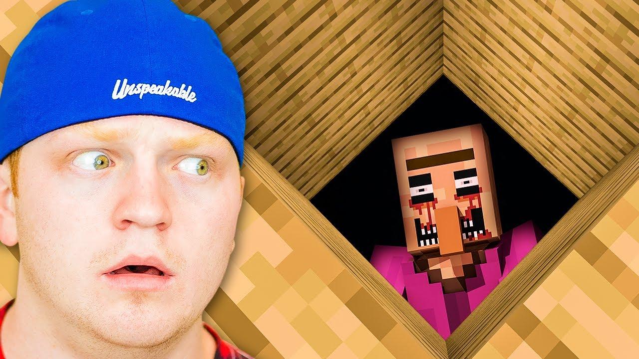 I Found Something In My Minecraft Basement...