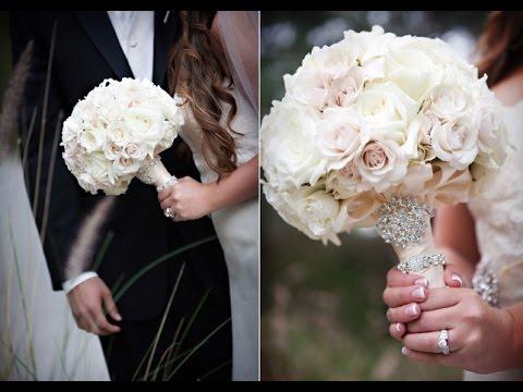 White Gardenia Wedding Bouquet