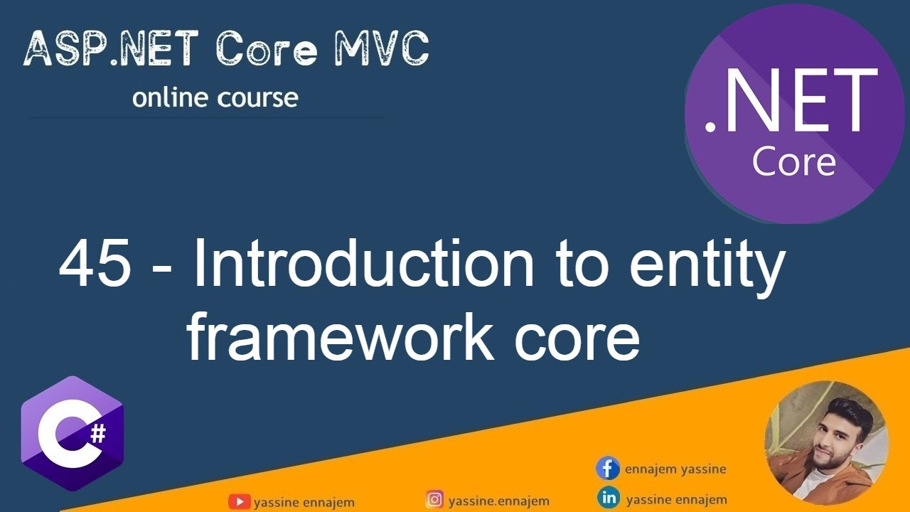 Introduction to entity framework core
