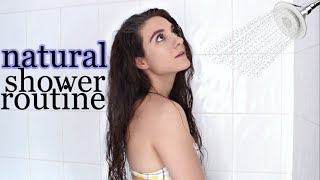 My NATURAL SHOWER ROUTINE | Hair Care, Body Care, Feminine Hygiene +  MORE!!
