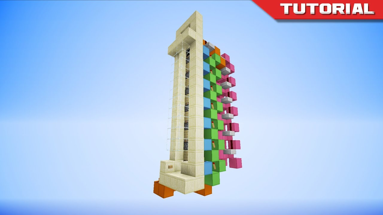 Fast Up Down Piston Elevator Compact 4x6 Youtube Toolbar Creator Galleries Related Minecraft Monostable Circuit